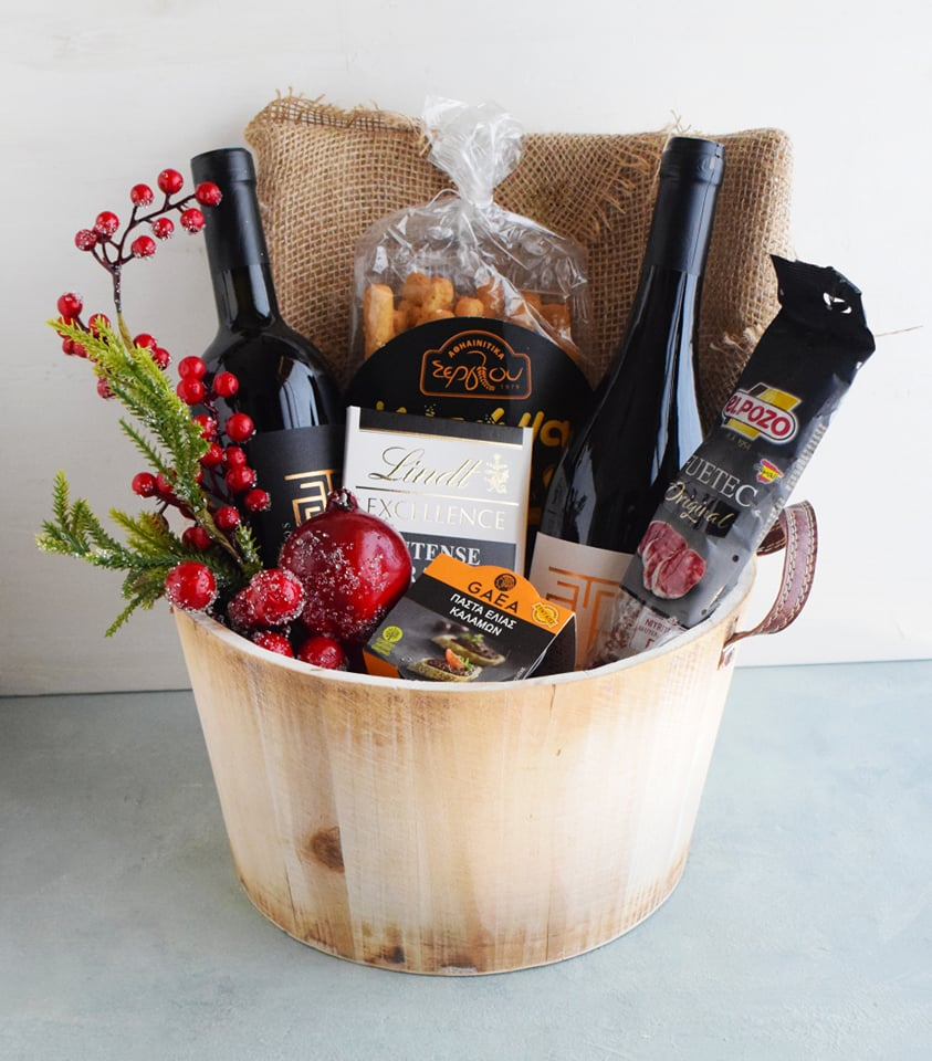 Sample gift boxes